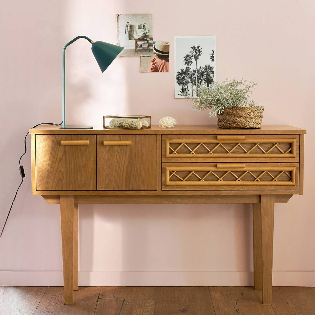 Console style vintage French Days La Redoute