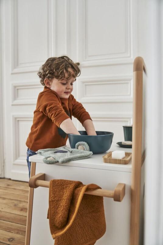 Meuble de toilette Montessori
