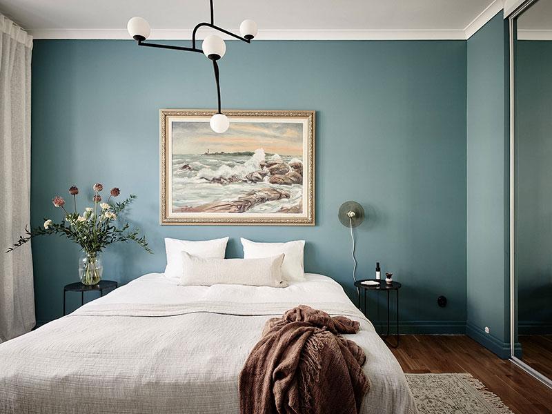 chambre bleue canard