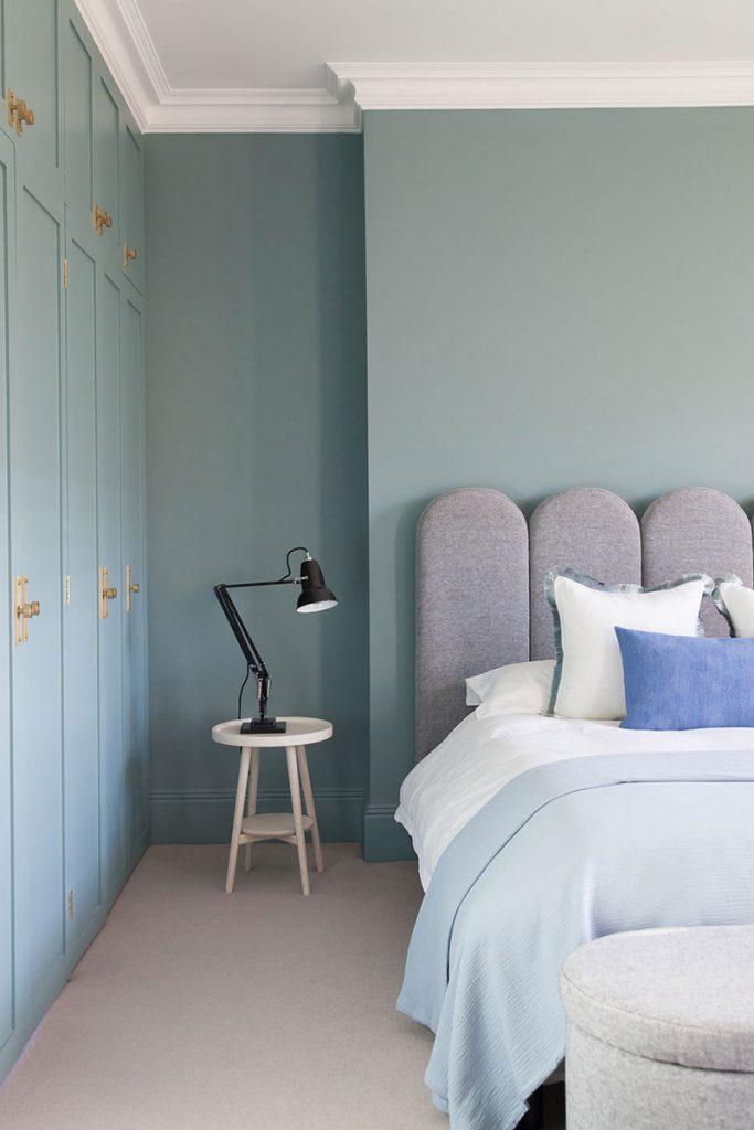 chambre bleue clair