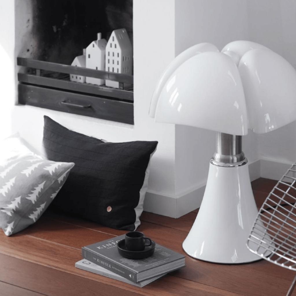 Lampe Pipistrello blanche