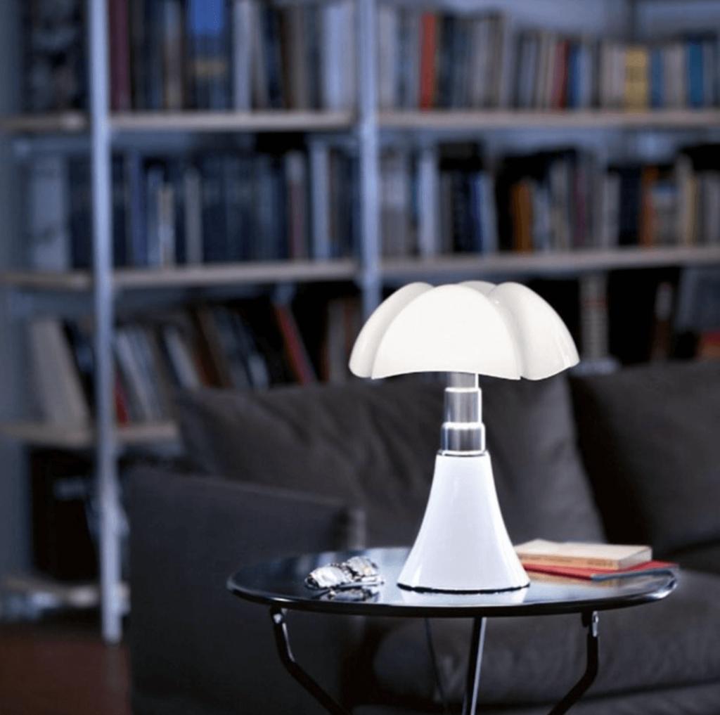 Lampe Pipistrello blanc